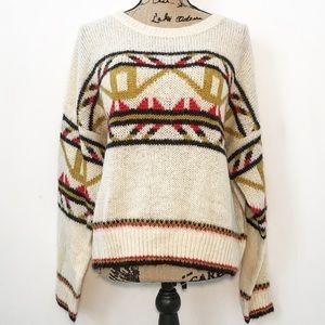 Scotch & Soda Nordic fair isle knit sweater
